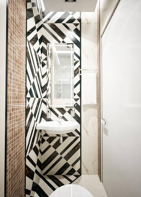 Bathroom by Студия архитектуры и дизайна ДИАЛ