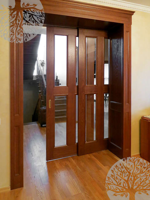 Projekty,  Okna i drzwi zaprojektowane przez Lesomodul