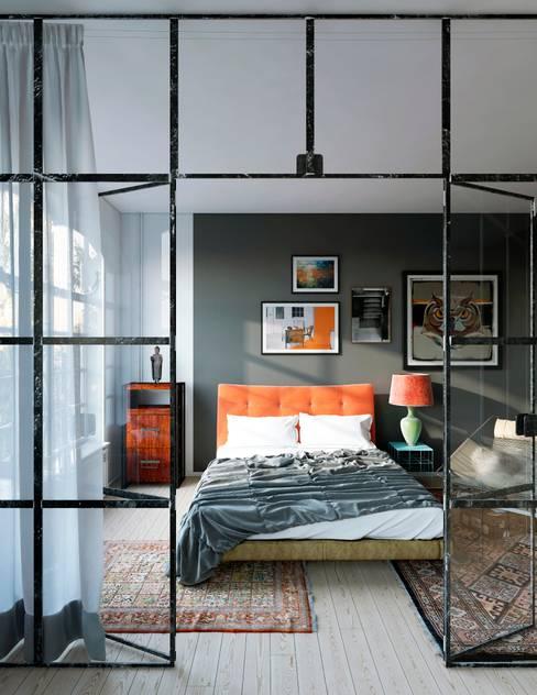Projekty,  Sypialnia zaprojektowane przez Artur Akopov