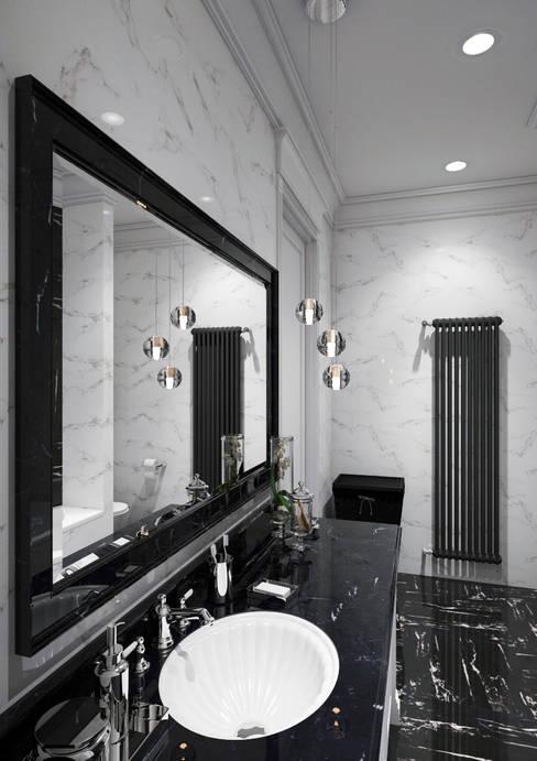 Квартира в Караганде: Ванные комнаты в . Автор – seven2seven studio