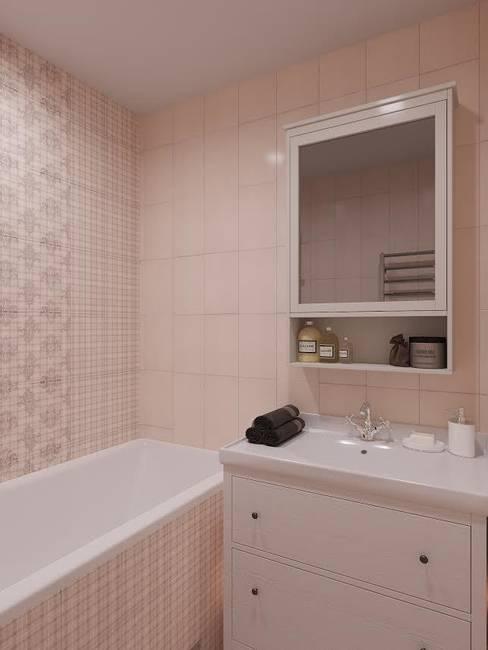 Квартира на ул. Краснобогатырская: Ванные комнаты в . Автор – Tina Gurevich