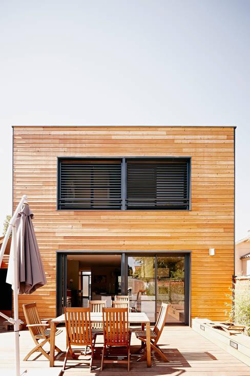 Houses by Cendrine Deville Jacquot, Architecte DPLG, A²B2D