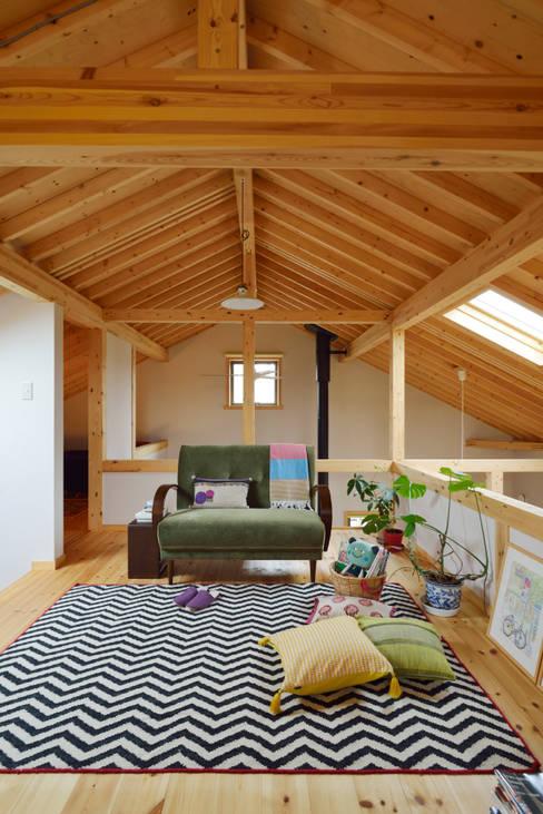 プライベートスペース: (株)バウハウスが手掛けた和室です。