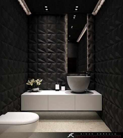 Baños de estilo  por SK ARCHITECTURAL VISUALIZATION