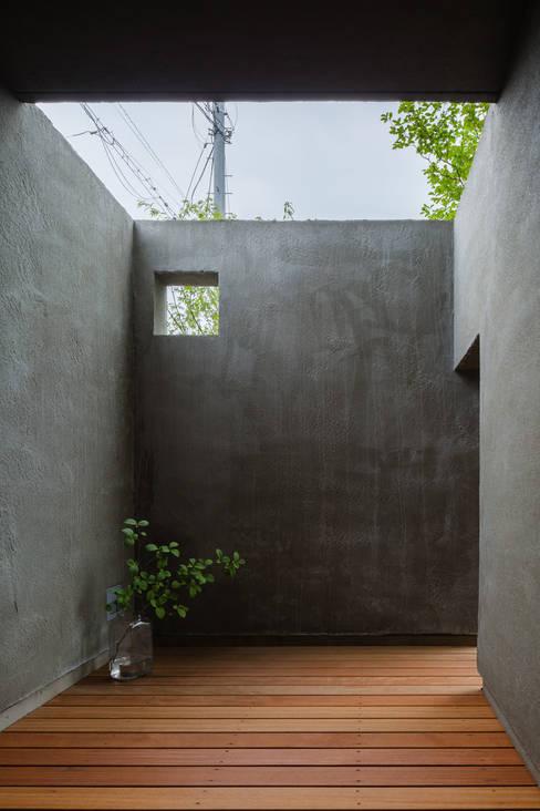 ระเบียง, นอกชาน by 水野純也建築設計事務所