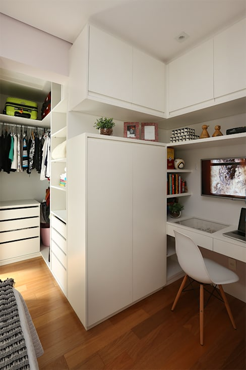 Bedroom تنفيذ Duda Senna Arquitetura e Decoração