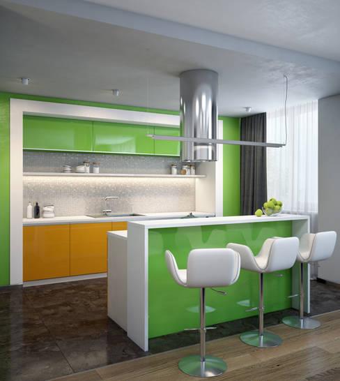 Fresh: Кухни в . Автор – VAE DESIGN GROUP™