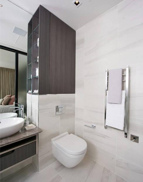Banheiros  por The Manser Practice Architects + Designers