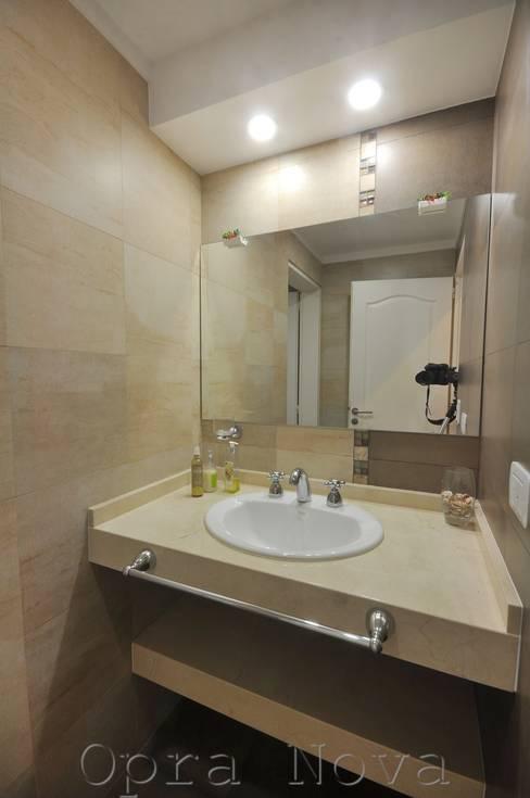 Opra Nova - Arquitectos - Buenos Aires - Zona Oesteが手掛けた浴室