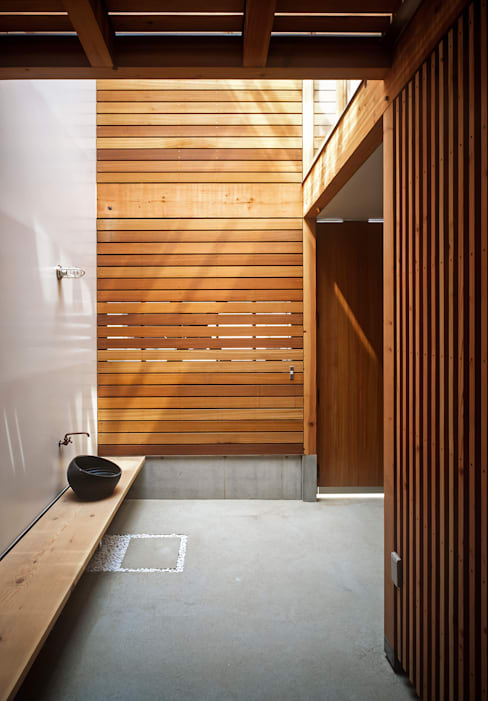 Projekty,  Ogród zaprojektowane przez 緒方幸樹建築設計事務所