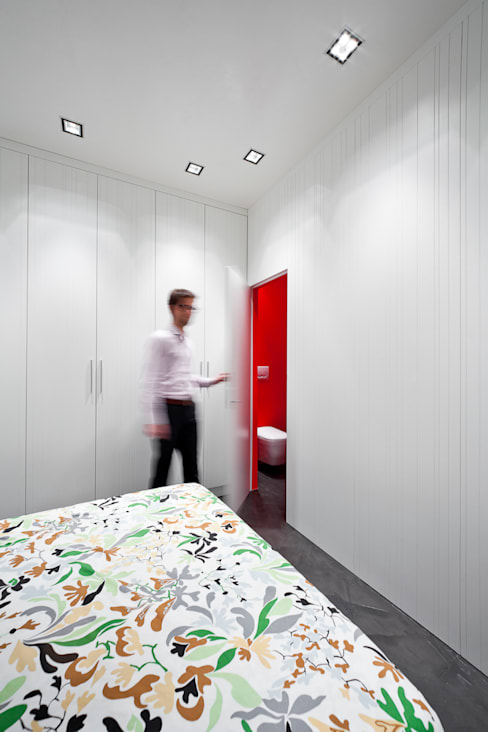 23bassi studio di architettura:  tarz Yatak Odası