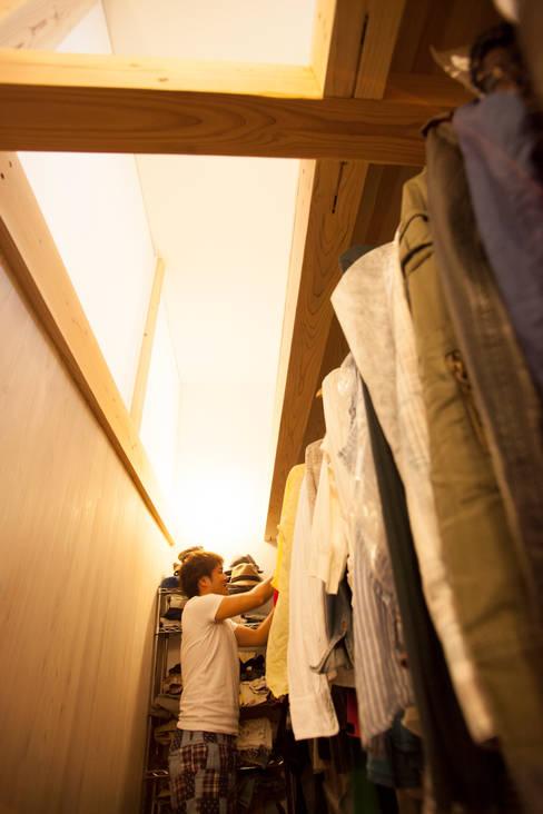 Dressing room by ADS一級建築士事務所