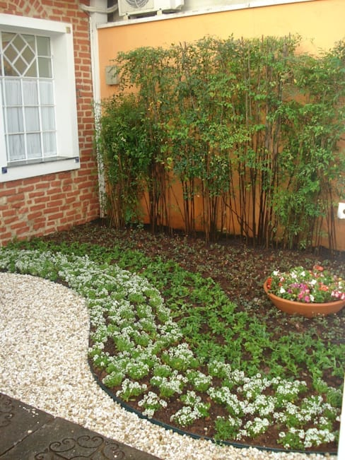 Jardines de estilo  por E|F DESIGN.INTERIORES.PAISAGISMO