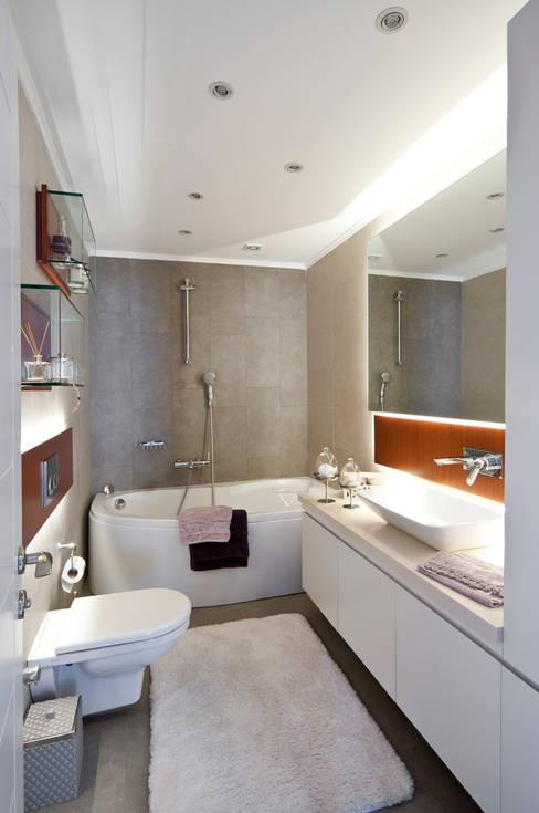 Projekty,  Łazienka zaprojektowane przez Canan Delevi