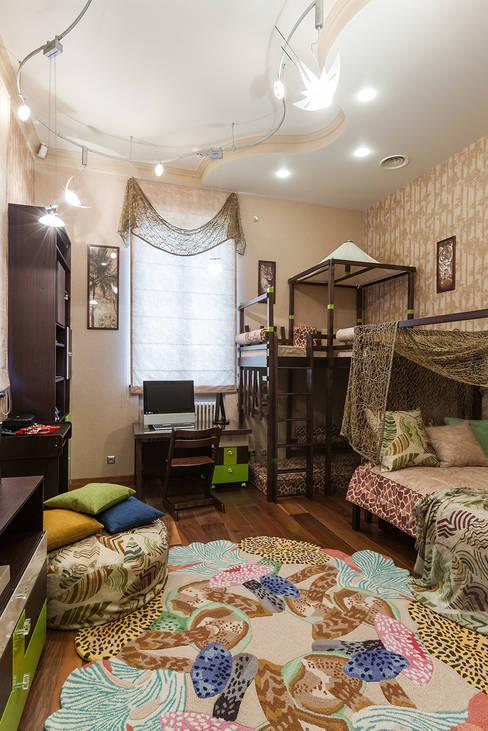 Интерьеры от Марии Абрамовойが手掛けた子供部屋