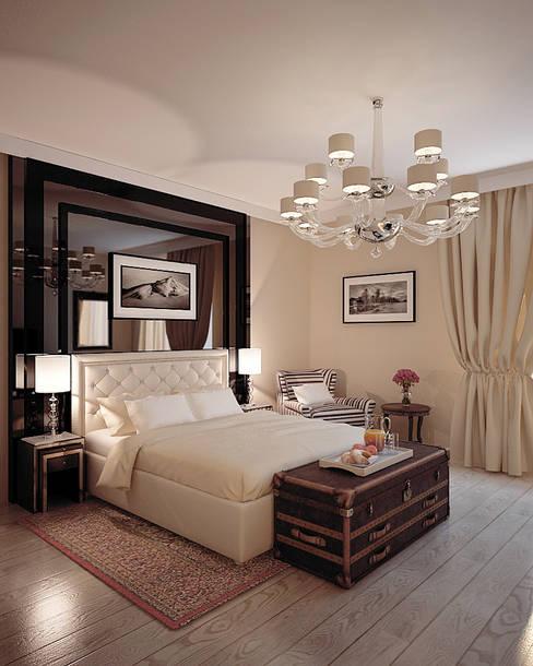 Спальни в . Автор – Shtantke Interior Design
