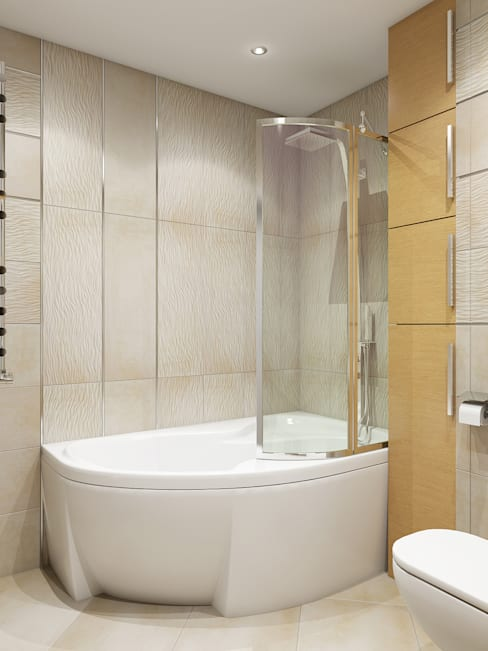 Bathroom by Tatiana Zaitseva Design Studio