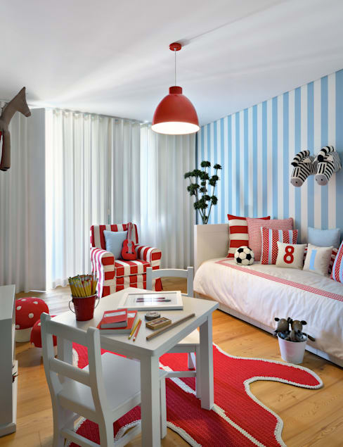 Nursery/kid's room by Prego Sem Estopa by Ana Cordeiro