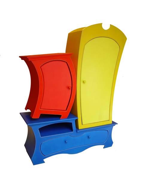 Chambre d'enfants de style  par Raxfox Design