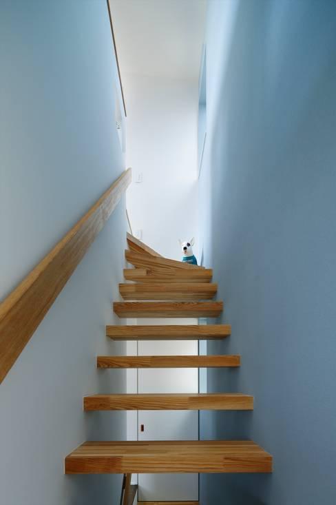 ระเบียงและโถงทางเดิน by 向山建築設計事務所