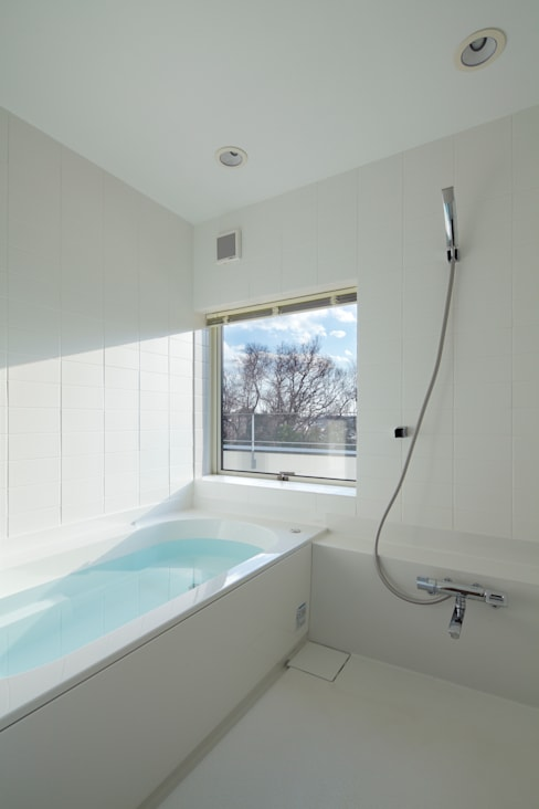Phòng tắm by 向山建築設計事務所