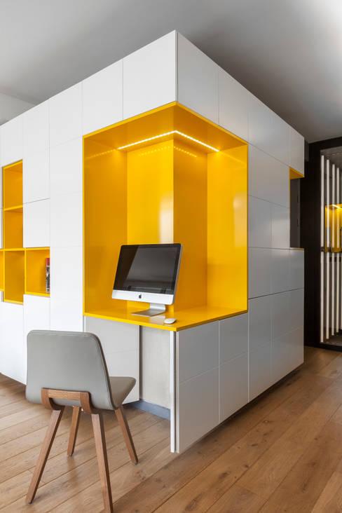 Buttes Chaumont: Bureau de style  par Agence Glenn Medioni
