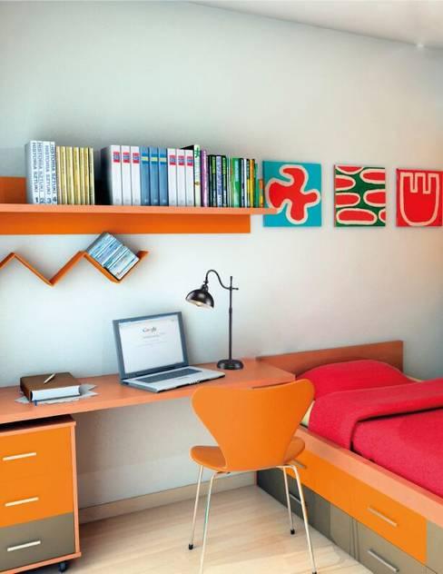 Projekty,  Sypialnia zaprojektowane przez Class Iluminación