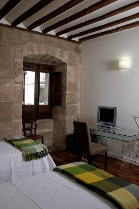 Ignacio Quemada Arquitectos:  tarz Yatak Odası