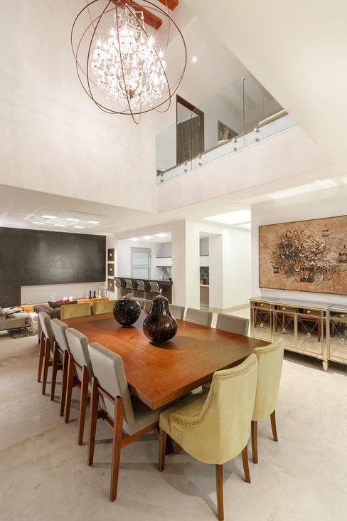 Projekty,  Jadalnia zaprojektowane przez Imativa Arquitectos