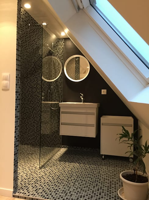 Expression d'Intérieursが手掛けた浴室