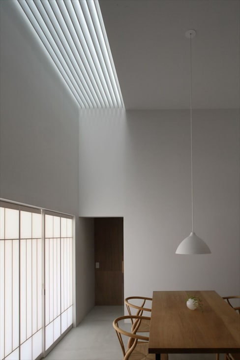 深山知子一級建築士事務所・アトリエレトノ의  다이닝 룸