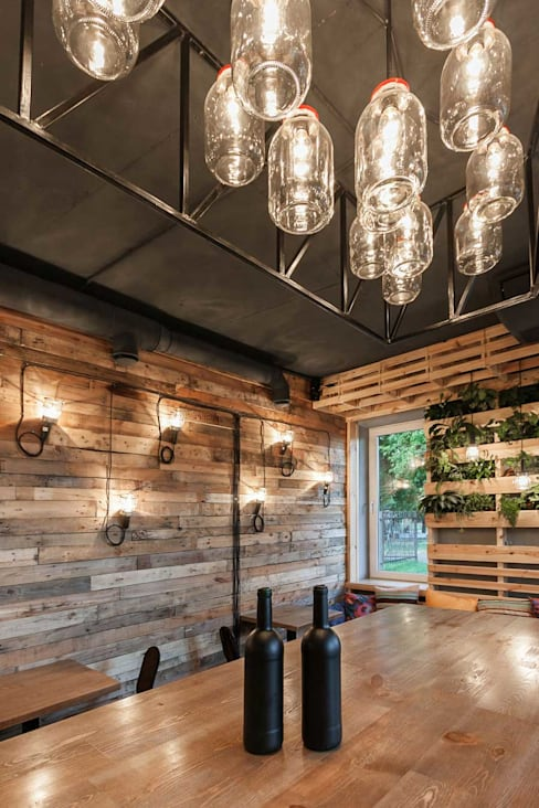 Salle à manger de style  par EUGENE MESHCHERUK   |  architecture & interiors