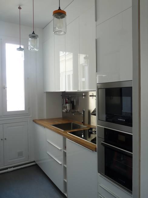 Projekty,  Kuchnia zaprojektowane przez Thomas JENNY