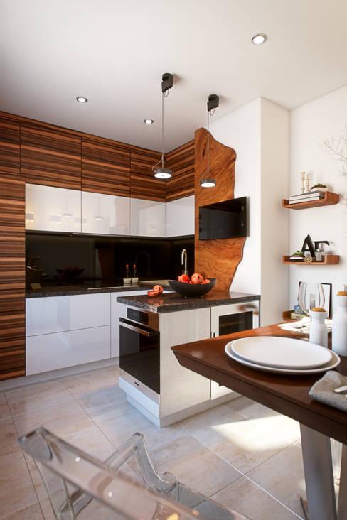 Kitchen by Yurii Hrytsenko
