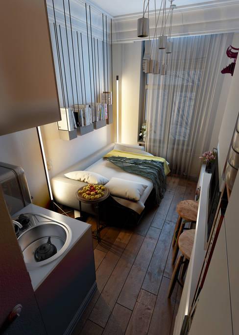 Vashantsev Nikが手掛けた寝室