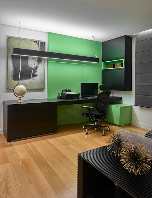 Study/office by Isabela Canaan Arquitetos e Associados