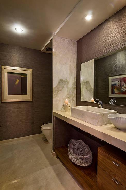 Projekty,  Łazienka zaprojektowane przez Olivia Aldrete Haas