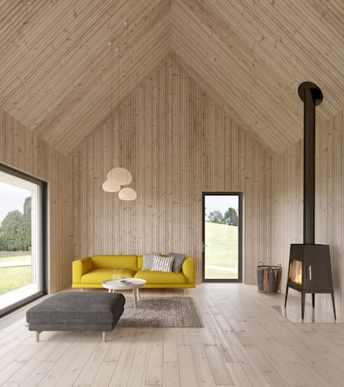 Living room by INT2architecture