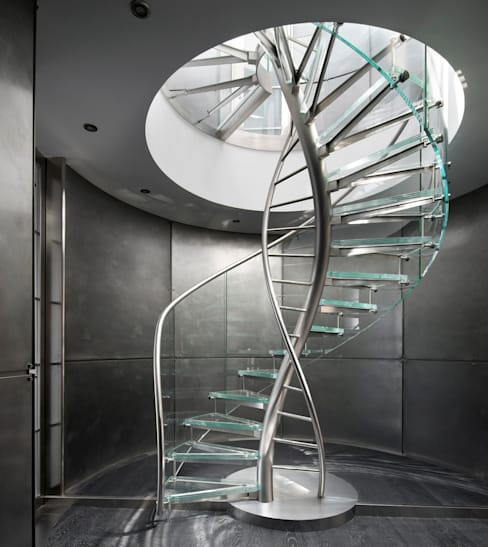 DNA by EeStairs®:  Gang en hal door EeStairs | Stairs and balustrades