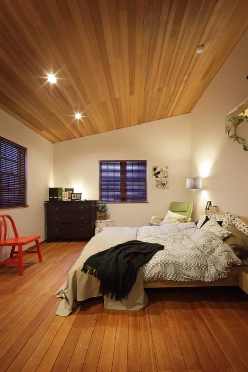 Projekty,  Sypialnia zaprojektowane przez dwarf