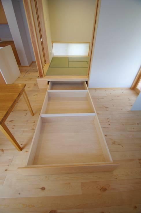 ห้องนั่งเล่น by K+Yアトリエ一級建築士事務所
