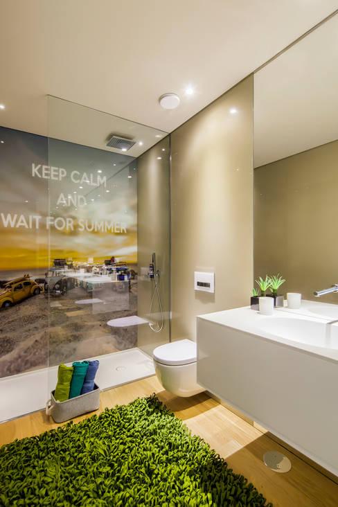 حمام تنفيذ INAIN Interior Design
