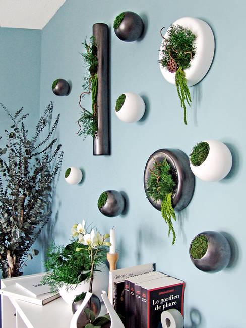 Agencement végétal d'intereur / interior plant design: Paysagisme d'intérieur de style  par Adventive