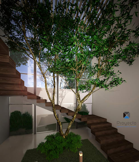 PORTO Arquitectura + Diseño de Interiores:  tarz Koridor ve Hol