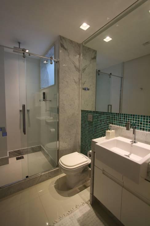 حمام تنفيذ Oleari Arquitetura e Interiores