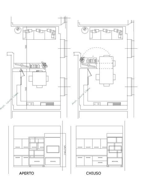 Salas / recibidores de estilo  por ARCHITETTO LAURA LISBO