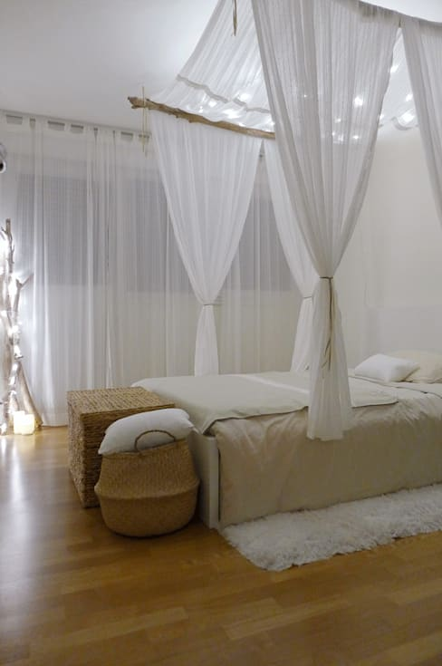 """Une chambre à l'esprit """"cabane chic"""": Chambre de style  par Skéa Designer"""