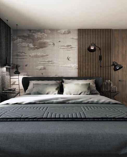 Bedroom by A2.STUDIO PRACOWNIA ARCHITEKTURY