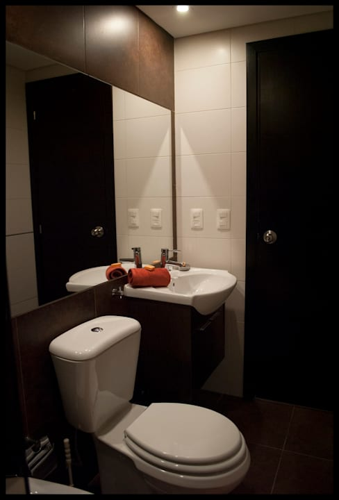 حمام تنفيذ Diseñadora Lucia Casanova