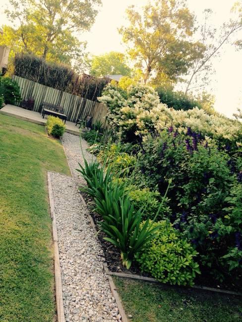 Tuin door BAIRES GREEN